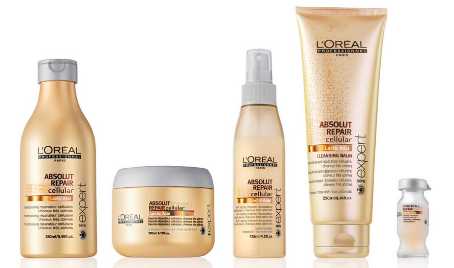 Produits coiffants L'Oreal ABSOLUT REPAIR Cellular SHAMPOOING