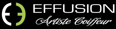 Salon de coiffure Effusion, Anjou, Mtl Logo